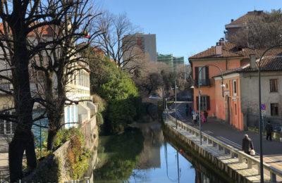 il ponte vecchio di Gorla a mILANO