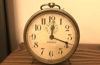 la sveglia e il tempo che scorre...