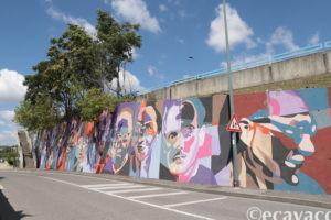 murales antifascisti all'ortica