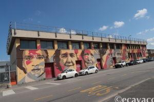 street art Ortica le donne del 900