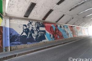 murales dei migranti all'Ortica