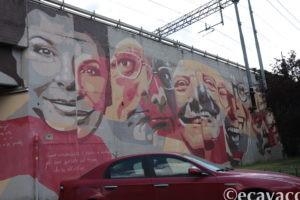 murales della musica popolare all'Ortica Milano